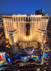 Planet Hollywood from Cosmopolitan suites 2/8/11