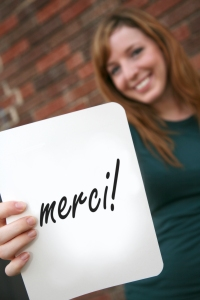 iStock_WomanThankYouFrench